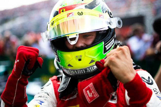 Mick Schumacher aseguró el título de campeón de Fórmula 2 (FOTO: Joe Portlock/ FIA F2 Championship)