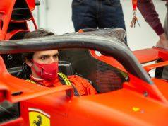 La primera visita de Carlos Sainz a Ferrari (FOTO: Scuderia Ferrari)