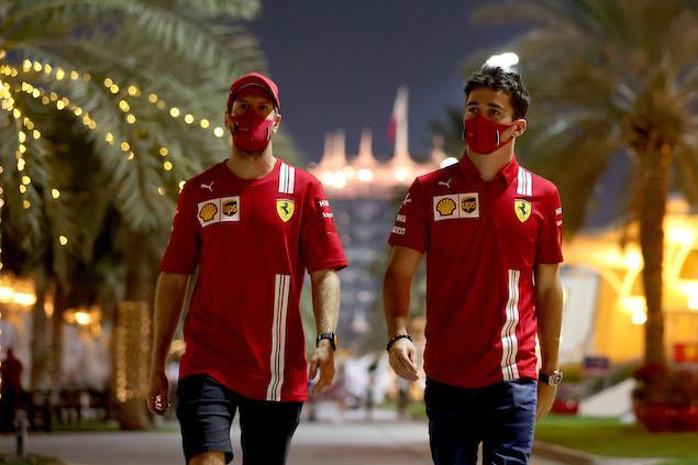 Vettel ganó, pero sigue muy lejos del nivel del monegasco, 2 a 1 (FOTO: Scuderia Ferrari Press Office)