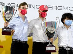 Callum Ilott y Mick Schumacher (FOTO: Scuderia Ferrari Press Office)