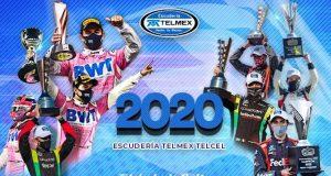 Deja el 2020 a Escudería Telmex Telcel la continuidad de Checo en F1, 21 triunfos y 3 campeonatos