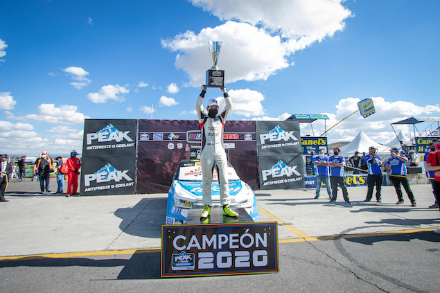 Andrés Pérez de Lara, campeón de TrucksMéxico (FOTO: Trucks México)