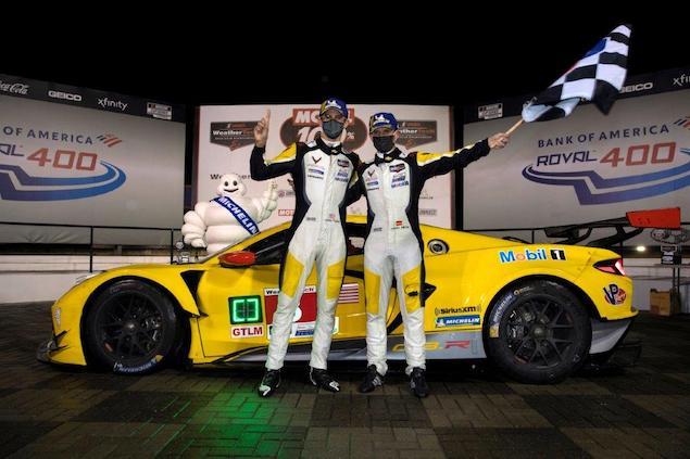 Antonio García y Jordan Taylor dominaron IMSA en 2020 (FOTO: Team Chevy)