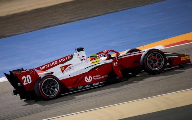 Schumacher mitigó daños (FOTO: Prema Racing)