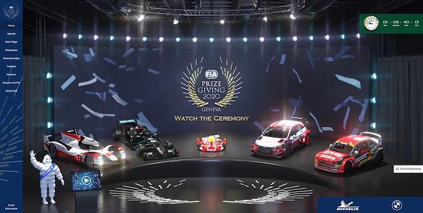 FIA Prize Giving 2020 (FOTO: FIA)