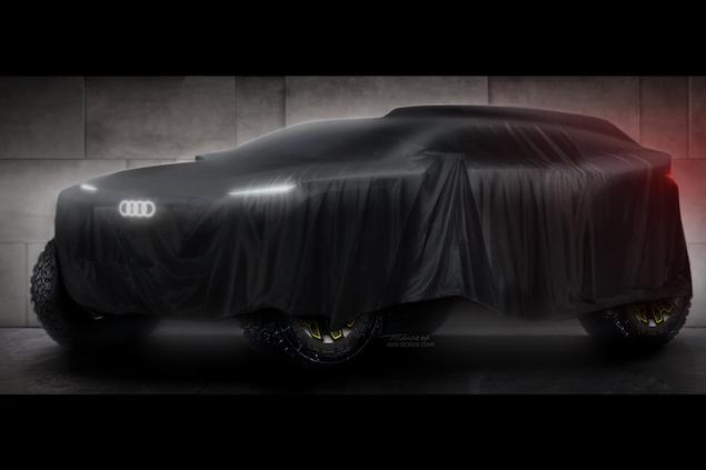 Audi comenzó a armar su programa de Rally Dakar para 2022 (FOTO: Audi Sport)