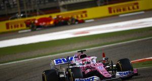 "Sergio ""Checo"" Pérez y Sebastian Vettel (FOTO: Racing Point F1 Team)"