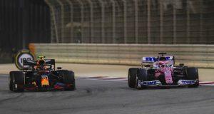 Sergio Perez y Alexander Albon (FOTO: Racing Point F1 Team)