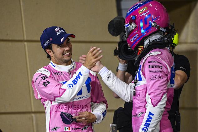 Otra barrida de Checo con victoria en Gran Premio incluida (FOTO: Racing Point F1 Team)