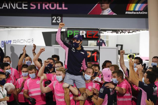Sergio Pérez (FOTO: Racing Point F1 Team)
