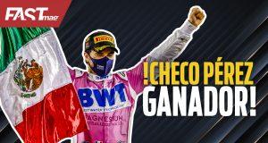Checo Pérez, ganador del GP de Sakhir F1