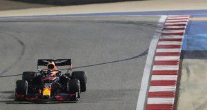 Verstappen, al frente en práctica final de GP de Sakhir (FOTO: Kamran Jebreili/Red Bull Content Pool)