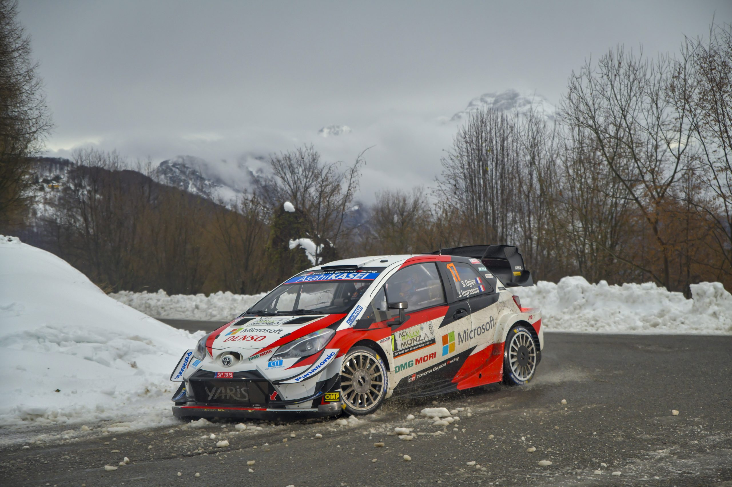 Ogier se enfila al séptimo título en WRC (FOTO: Toyota Gazoo Racing)
