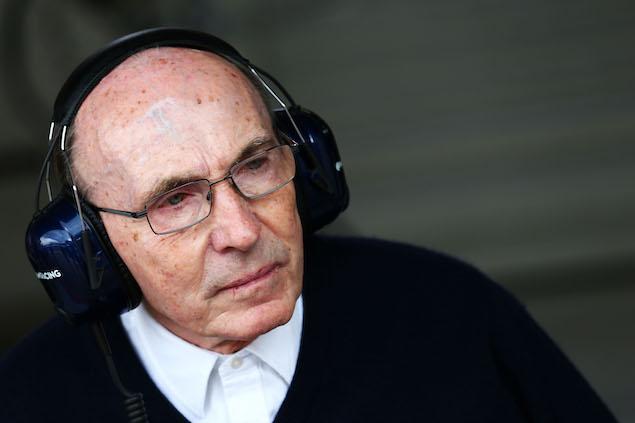 Sir Frank Williams recibe alta tras diez días internado (FOTO: Williams Racing)