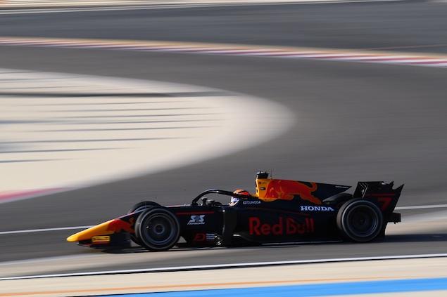 Yuki Tsunoda ganó la Carrera Estelar de Fórmula 2 en Sakhir (FOTO: Clive Mason/Formula 2)