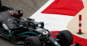 ¿Podrá Hamilton correr en Abu Dabi? (FOTO: Zak Mauger/Pirelli Motorsport)