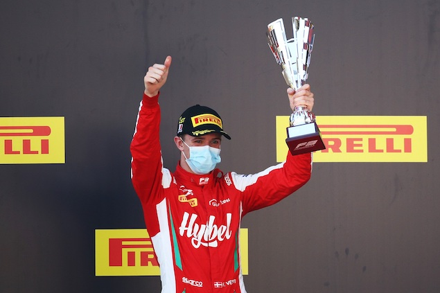 Frederik Vesti, piloto de desarrollo de Mercedes (FOTO: Mark Thompson/FIA F3)