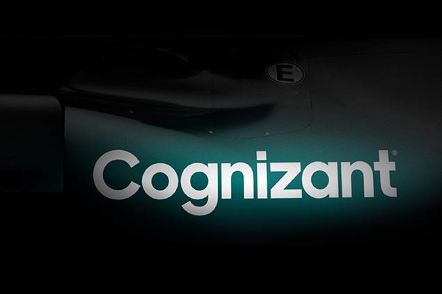 Cognizant, patrocinador principal para Aston Martin en 2021 (FOTO: Aston Martin F1)