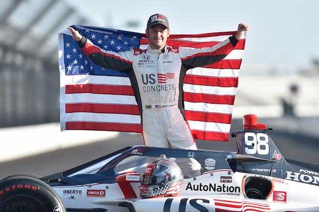 Marco Andretti no correrá toda la IndyCar en 2021 (FOTO: Chris Owens/IndyCar)