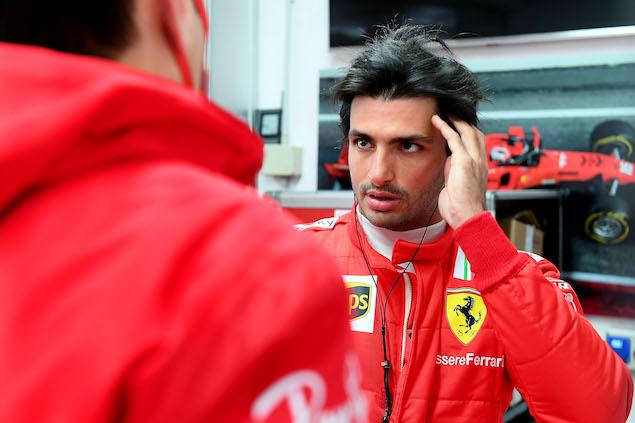 Sainz totaliza más de 100 vueltas en primera prueba con Ferrari (FOTO: Scuderia Ferrari Press Office)