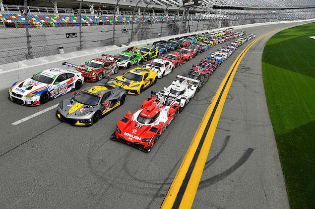 """Puntos a seguir en las """"24 Horas de Daytona"""" 2021 (FOTO: Richard Dole/IMSA)"""