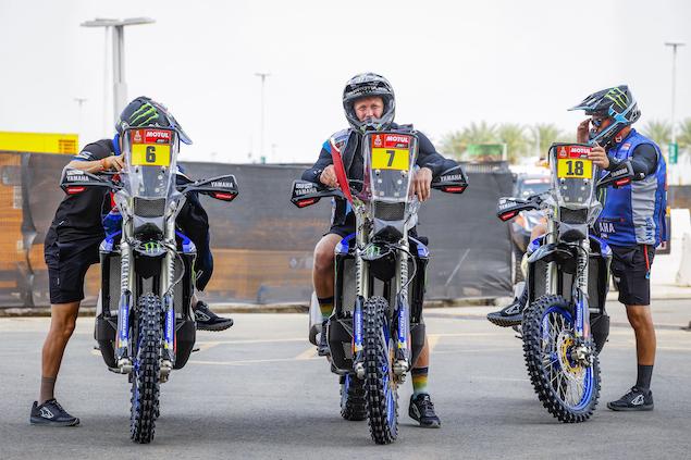 Andrew Short y Yamaha buscan sorprender (FOTO: Florent Gooden/Dakar/ASO)