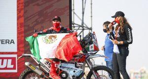 Juan Pablo Guillén Rivera, único mexicano en el Dakar 2021 (FOTO: Julien Delfosse/Dakar/ASO)