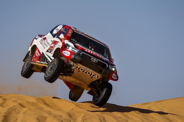Giniel De Villiers gana Etapa 5 del Dakar 2021 (FOTO: Florent Gooden/Dakar/ASO)