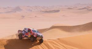 Dakar 2021: Al-Attiyah gana Etapa 3 (FOTO: Frederic Le Floc'h/Dakar/ASO)