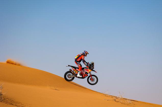 Toby Price retoma el mando en Motos (FOTO: Florent Gooden/Dakar/ASO)
