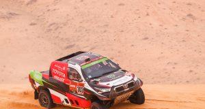 Yazeed Al-Rahji gana primera parte de la Etapa Maratón de Rally Dakar 2021 (FOTO: Frederic Le Flocíh/Dakar/ASO)