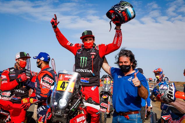 Dakar 2021: Benavides hace historia en Motos (FOTO: Florent Gooden/Dakar/ASO)