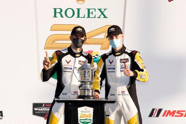 Jordan Taylor y Nicky Catsburg (FOTO: Chevy Racing)