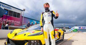 Antonio García ganó Daytona pero dio positivo a COVID-19 (FOTO: Richard Prince/Chevy Racing)