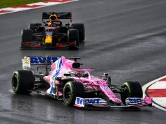 "Sergio ""Checo"" Perez y Max Verstappen (FOTO: Racing Point F1 Team)"