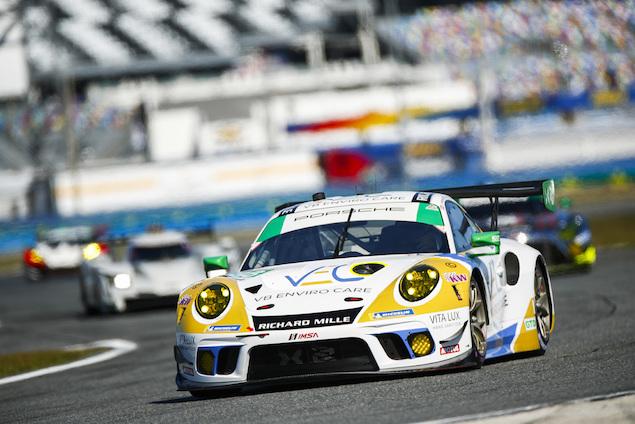 El Porsche 911 de Legge y Nielsen (FOTO: Porsche)