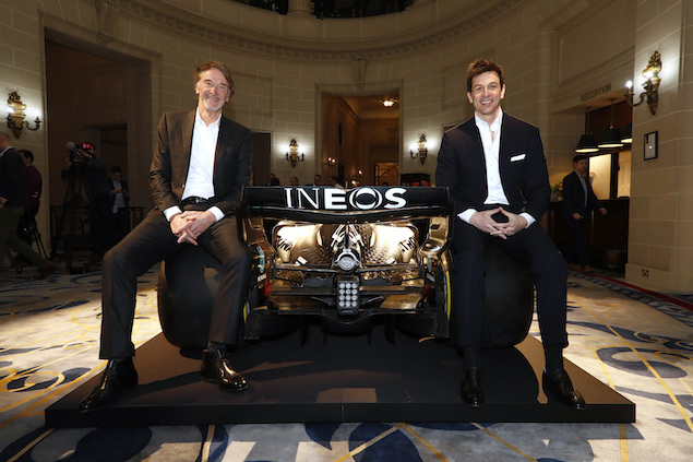 INEOS tendrá más presencia en Mercedes F1 en 2021 (FOTO: Mercedes AMG F1)