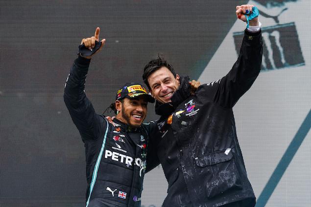 Wolff actualiza tema de negociaciones con Hamilton (FOTO: Mercedes AMG F1 Team)