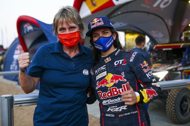 Cristina Gutiérrez hace historia en el Rally Dakar 2021 (FOTO: Julien Delfosse/Red Bull Content Pool)