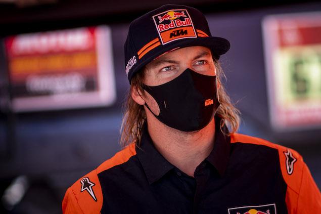Toby Price tomó las riendas en Motos (FOTO: Marcelo Maragni/Red Bull Content Pool)