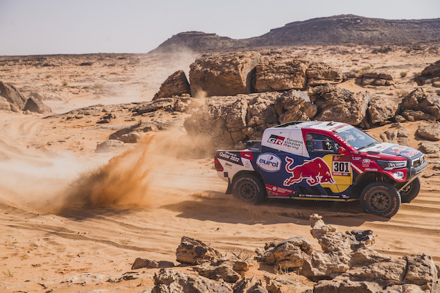 Nasser Al-Attiyah gana Etapa 8 del Dakar 2021 (FOTO: Flavien Duhamel/Red Bull Content Pool)