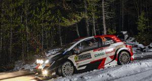 Evans lidera WRC Montecarlo 2021 (FOTO: Toyota Gazoo Racing WRT)