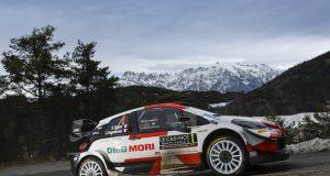 Ogier gana WRC en Montecarlo (FOTO: Toyota Gazoo Racing WRT)