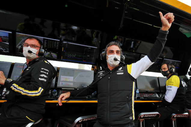 Cyril Abiteboul se va de Grupo Renault (FOTO: Renault F1 Team)