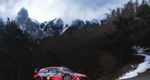 Tanak lidera en arranque de Rally de Montecarlo 2021 de WRC (FOTO: Romain Thuillier/Hyundai Motorsport GmbH)