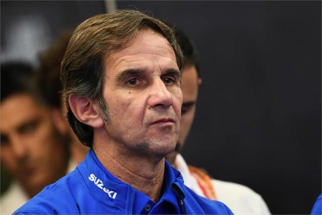 Davide Brivio deja Suzuki MotoGP; ¿rumbo a Alpine F1? FOTO: Suzuki MotoGP