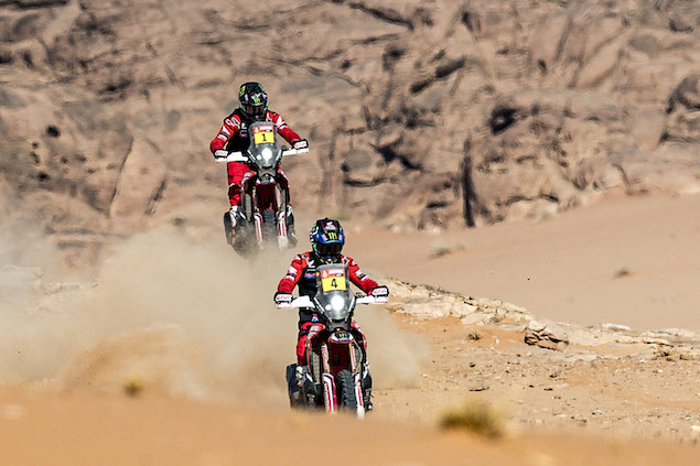 José Ignacio Cornejo lidera en Motos (FOTO: Honda)