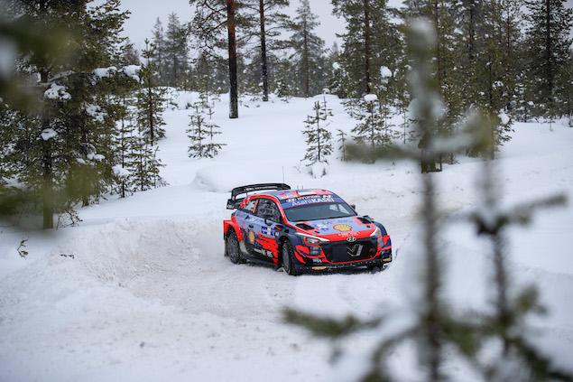 Rally Ártico WRC: Tänak inicia con paso perfecto (FOTO: Hyundai Motorsport GmbH)