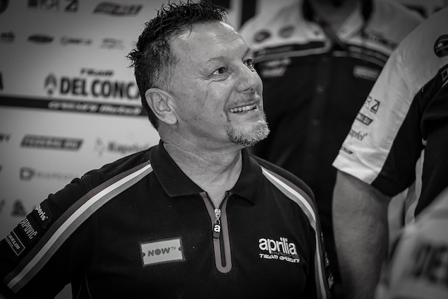 Fausto Gresini muere por secuelas de COVID-19 (FOTO: MotoGP)