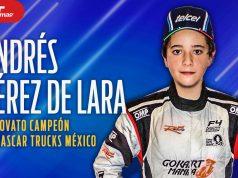 ANDRÉS PÉREZ DE LARA: El novato campeón de Trucks México